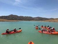 Kayaks en Los Romanes