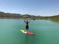 Paddle surf en Embalse de la Viñuela