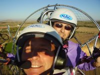 30-Min. Paramotor Flight + Video, Montes de Toledo