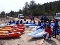 Kayaks por la costa de Jávea