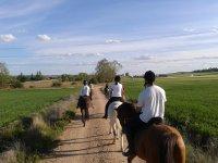 Divertido día a caballo