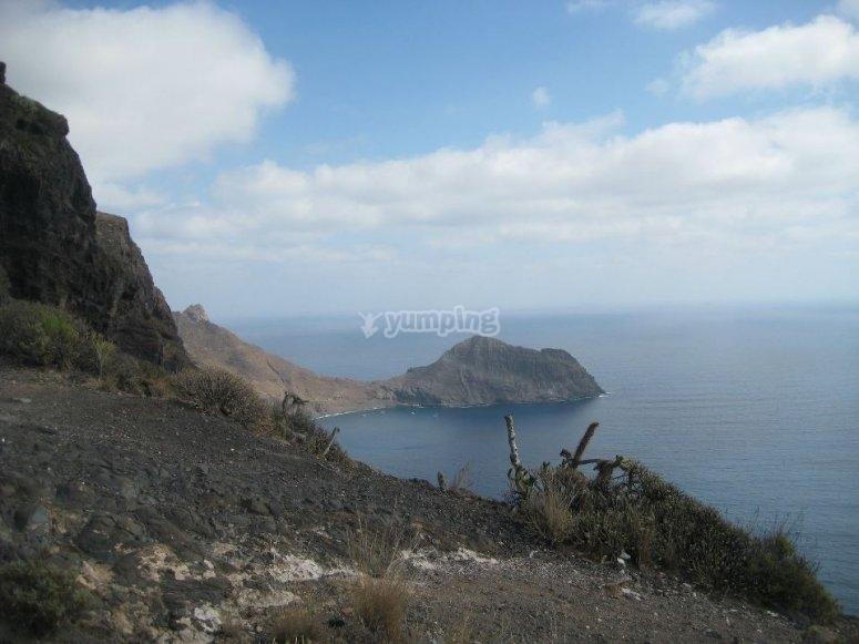 Teide and sea