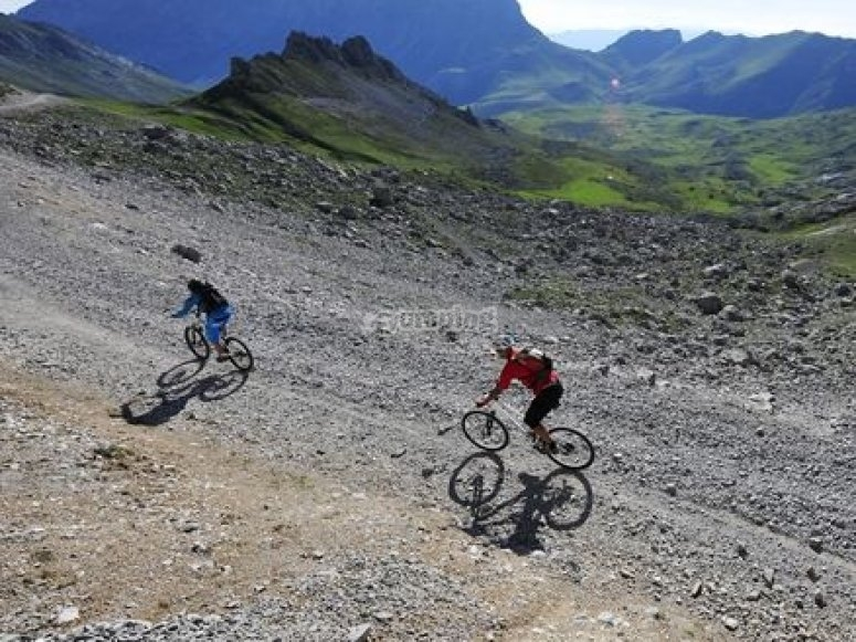 Mountain bike through Picos de Europa