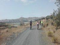 穿越内陆的家庭自行车路线del Sol