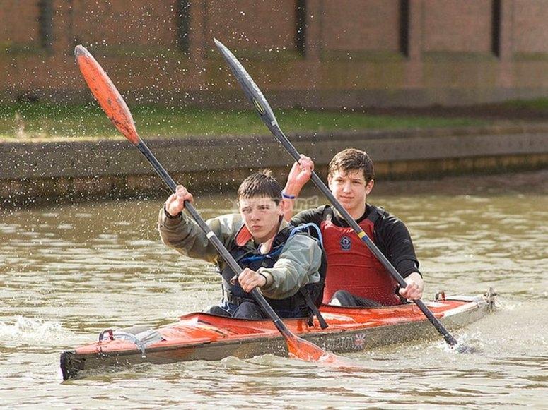 percorso kayak girona campo nautico