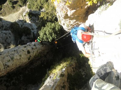 Via ferrata, Sorrosal, mid-level, 3 hours