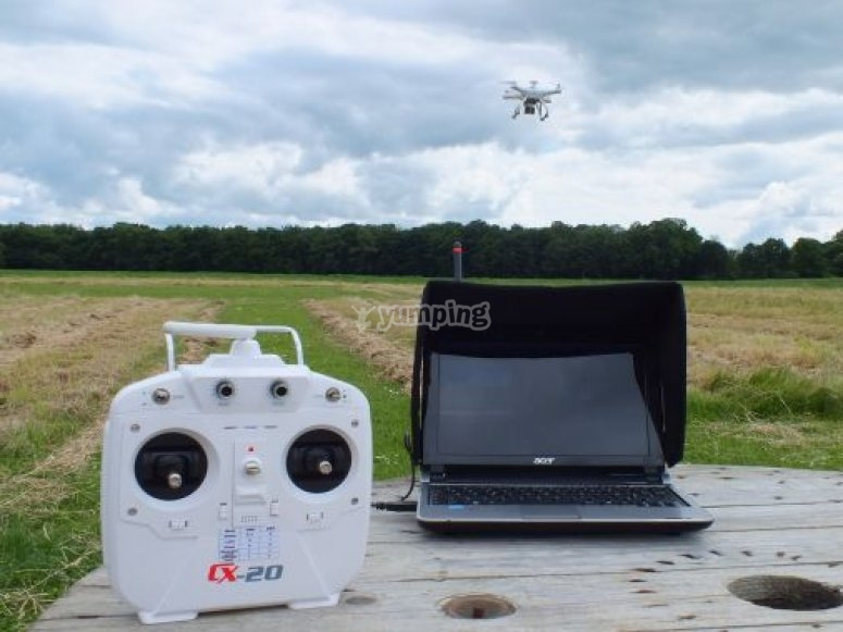 control del dron