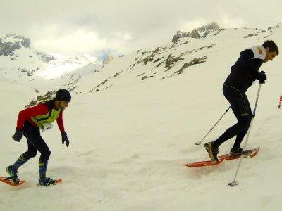 Ruta raquetas de nieve Picos de Europa y comida