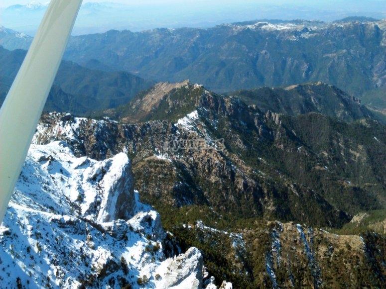 Vuelo en ultraligero por sierra Jaén