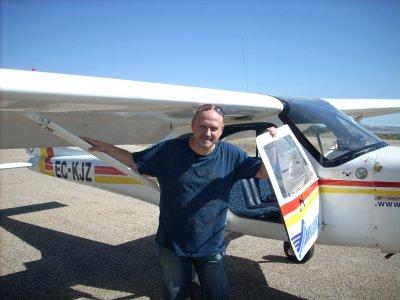 Pilotaje de avión en Jaén de 70 minutos