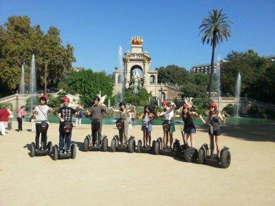 Tour marittimo di 90 minuti in Segway Barcellona