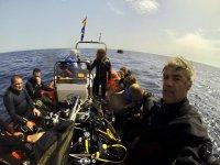 Preparados para la inmersión en mar abierto