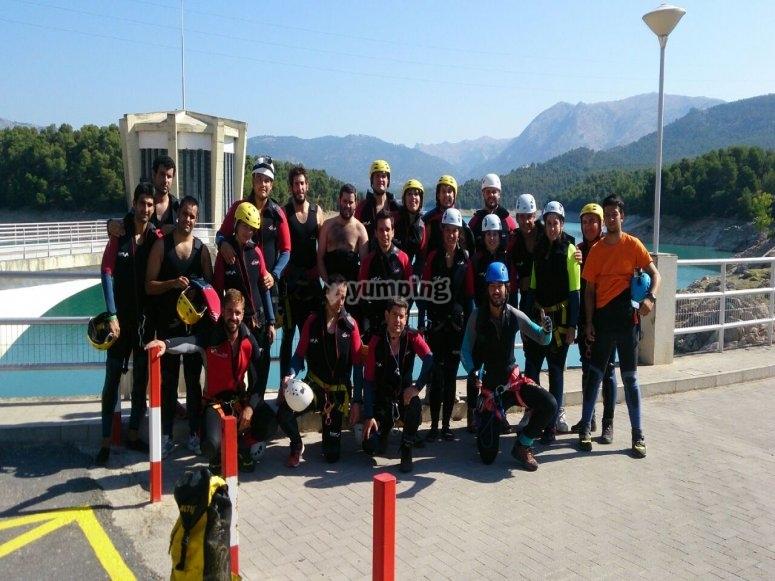 Kayak y barranquismo