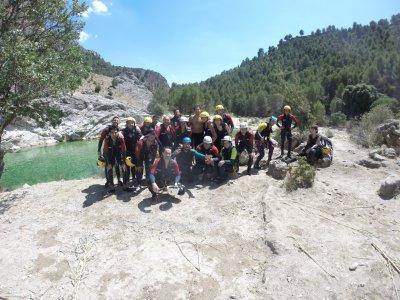 Barranquismo y ruta en kayak embalse de La Bolera