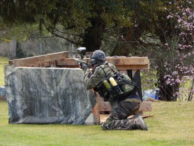 Airsoft with replica rental Sant Feliu Codines 2h