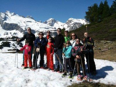 Paseo con raquetas de nieve en Canfrac 2 horas