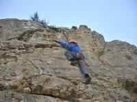 Aprendiendo escalada
