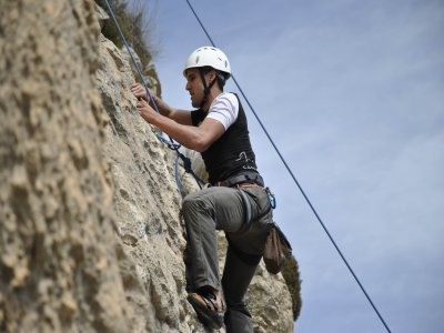 Sports climbing course for beginners in Alicante