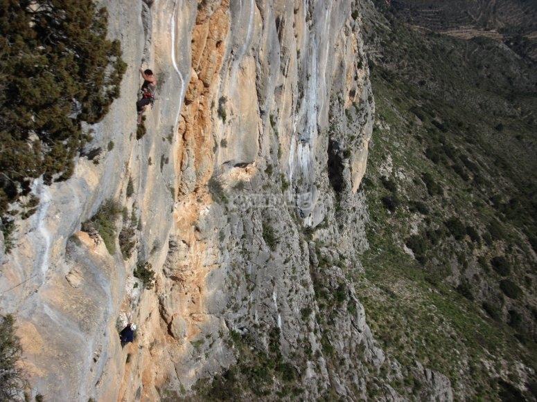 Escalando en Valencia o Alicante