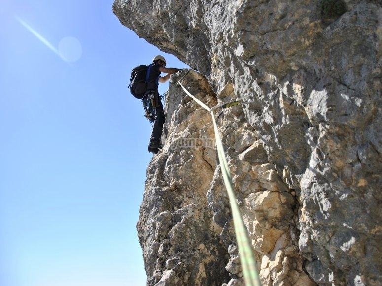 Escalada en crestas