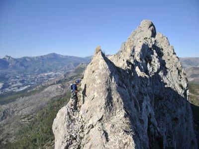Escalada en crestas en Valencia o Alicante