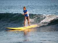 Godersi il paddle surf