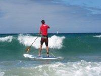 Enfrentandote a las olas