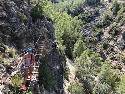 Iniciación a la vía ferrata Valencia o Alicante