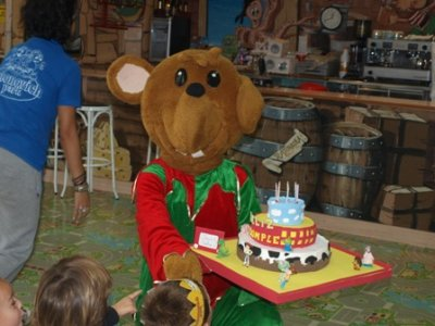 Children's birthday party in Zaragoza, 2 hours