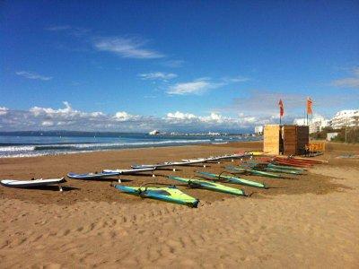 布拉瓦海岸的航海营地5天