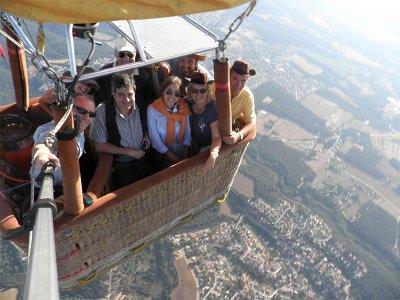 气球飞行与敬酒在加泰罗尼亚1小时