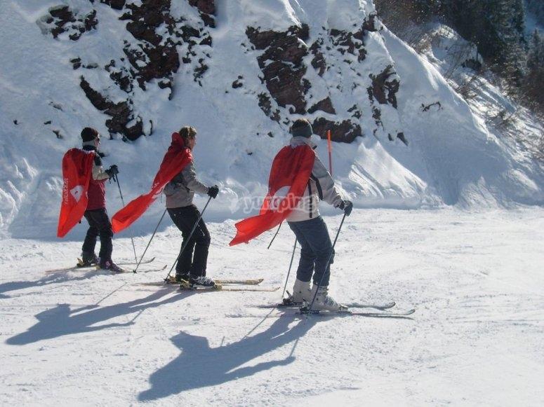 clases particulares de esqui en jaca