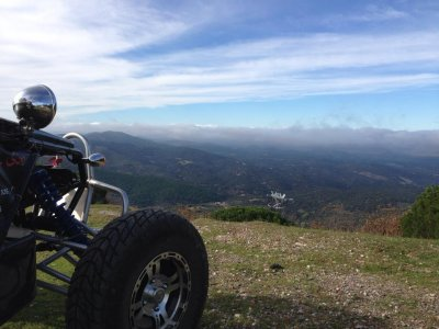 Couple buggy route in Extremadura + accommodation