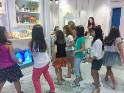 Cumpleaños peluquería infantil Barcelona