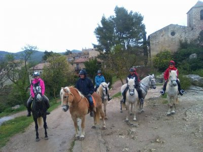 Horseback riding tour of Cistercian Monasteries