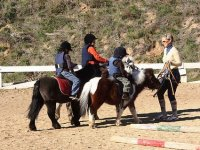 Pony ride for children. Tarragona. 15 minutes.