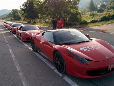 Drive a Ferrari on Cheste circuit and on the road