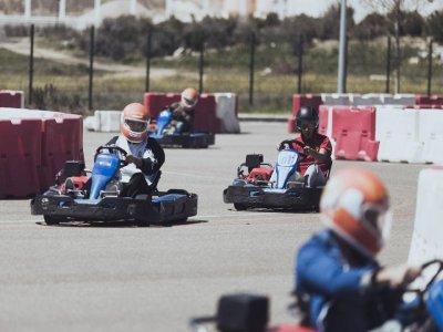 Go-karting round in Valladolid 9 minutes