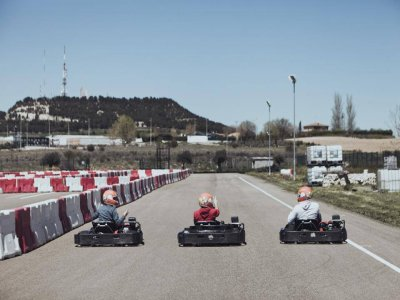 Pole training e gara di kart a Valladolid