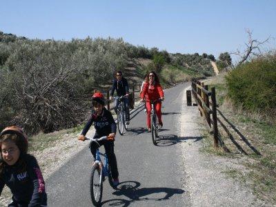 Ruta en bicileta Vía verde de Córdoba 5 horas