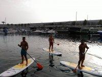 paddle surf en compania