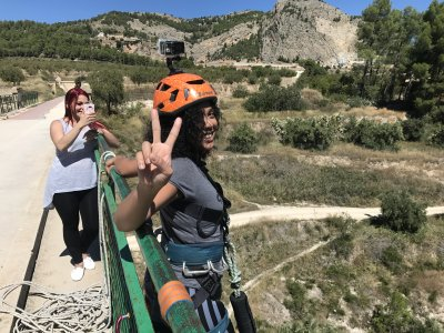 Bungee jumping ad Alicante con video gratuito a 50 metri