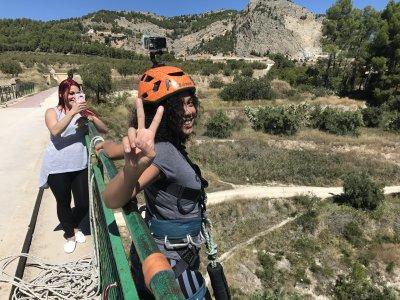 Puenting en Alicante con vídeo gratis 50 metros