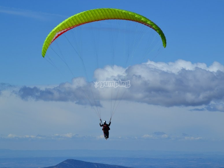飞行动力伞