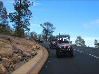 Buggys en carretera en Tenerife