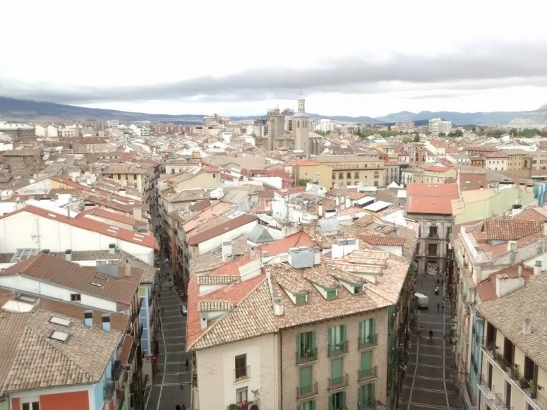 Visita por Pamplona
