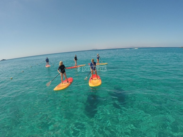 Test del paddle surf