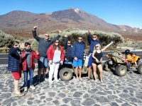 Ruta en quad por el Teide