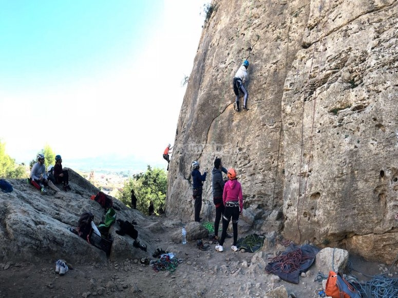 Escalada supervisada