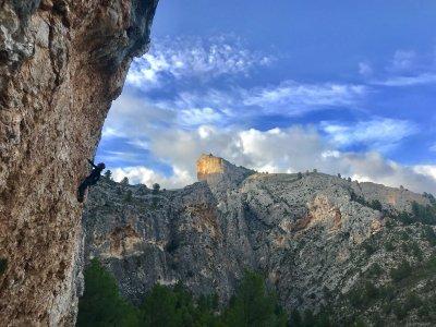 Escalada deportiva de iniciación Alicante